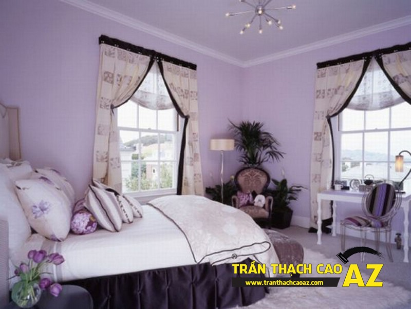 Nhận tư vấn miễn phí làm trần thạch cao phòng ngủ giá rẻ tại Hà Nội 02