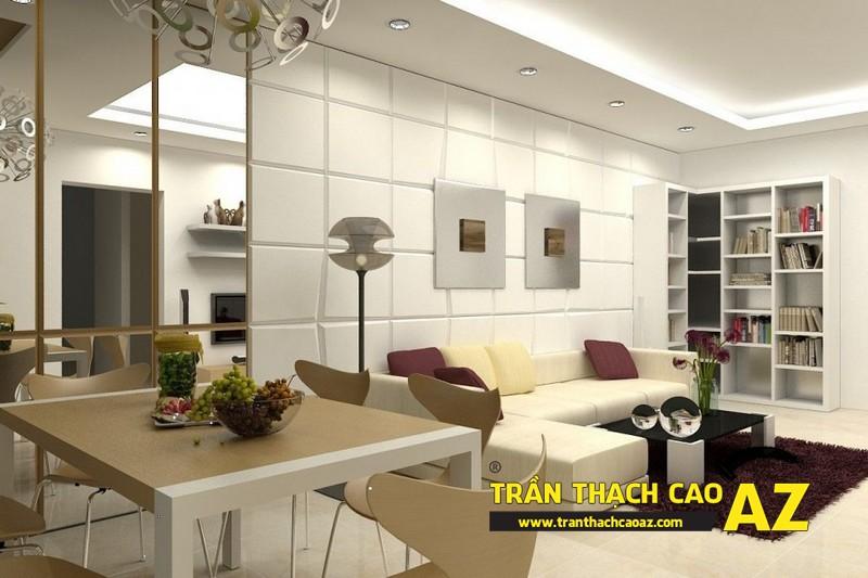 Nguyên tắc chọn thiết kế trần thạch cao phù hợp với mọi cấu trúc không gian 01