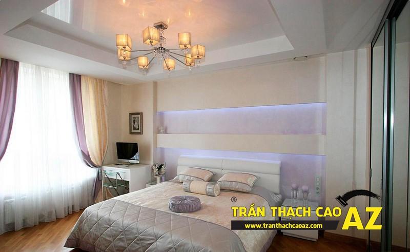 Cách thiết kế trần thạch cao phòng ngủ vợ chồng thêm gắn kết 01