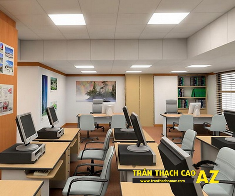 Cải thiện không gian làm việc cho văn phòng cùng trần thạch cao AZ