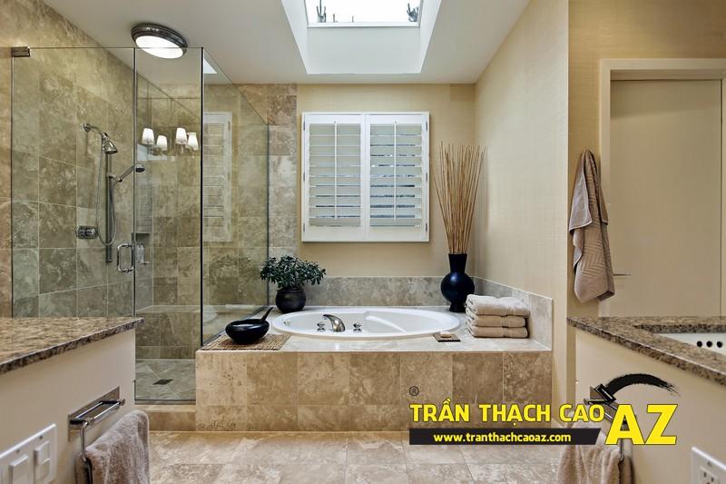 Cần tìm đơn vị thi công trần thạch cao phòng tắm tốt nhất