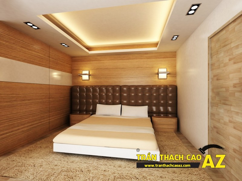 Chia sẻ bí quyết chọn mẫu trần thạch cao phòng ngủ hợp phong thủy