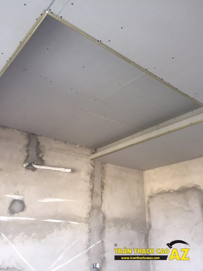 Đi khung xương trần thạch cao giật cấp nhà anh Bình P2101B, Tòa Golden West 03