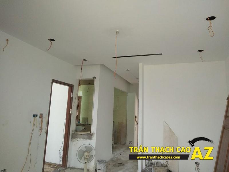 Hoàn thiện trần thạch cao nhà chị Hoài Cổ Dương, Đông Anh, Hà Nội 05