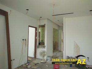 Hoàn thiện trần thạch cao nhà chị Hoài Cổ Dương, Đông Anh, Hà Nội