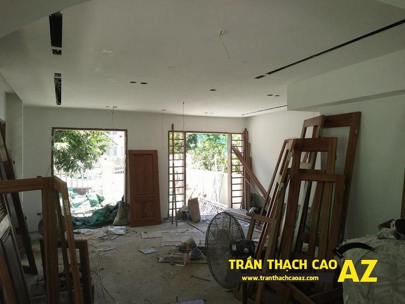 Hoàn thiện trần thạch cao nhà chị Hoài Cổ Dương, Đông Anh, Hà Nội 03
