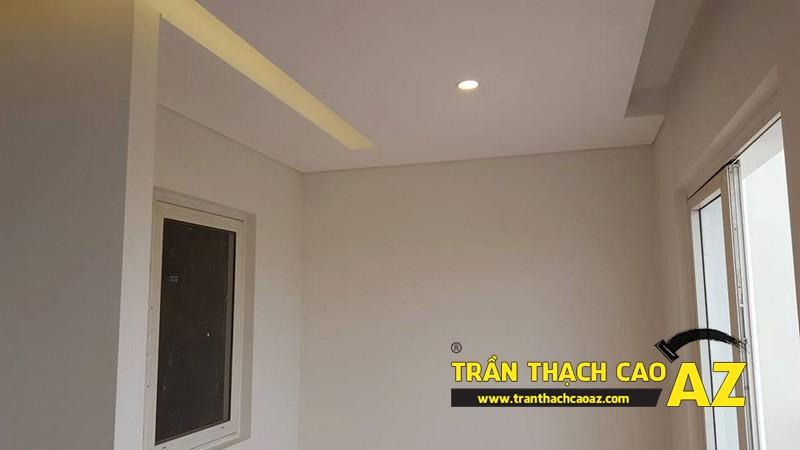 Thi công trần thạch cao biệt thự nhà anh Nam thị trấn Phúc Yên, Mê Linh 01