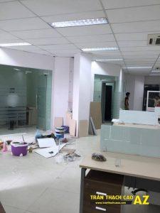 Làm trần thạch cao văn phòng tầng 3, tòa HITC, Xuân Thủy, Cầu Giấy