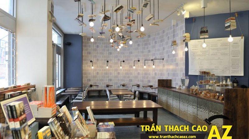 Phát cuồng với tốp 10 mẫu trần thạch cao quán cafe sang chảnh nhất 2016