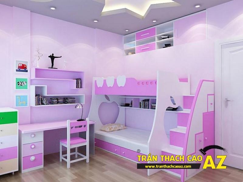 Những điều cần nhớ khi thiết kế trần thạch cao phòng ngủ trẻ em 01