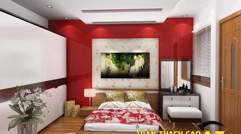 Tác dụng của vách ngăn thạch cao trong phòng ngủ