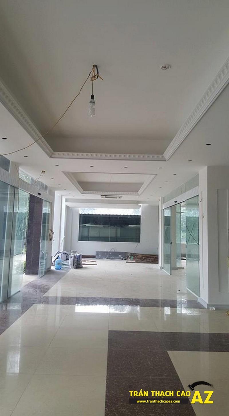 Thi công trần thạch cao khách sạn Phương Đông xã Cổ Loa, Đông Anh, Hà Nội04