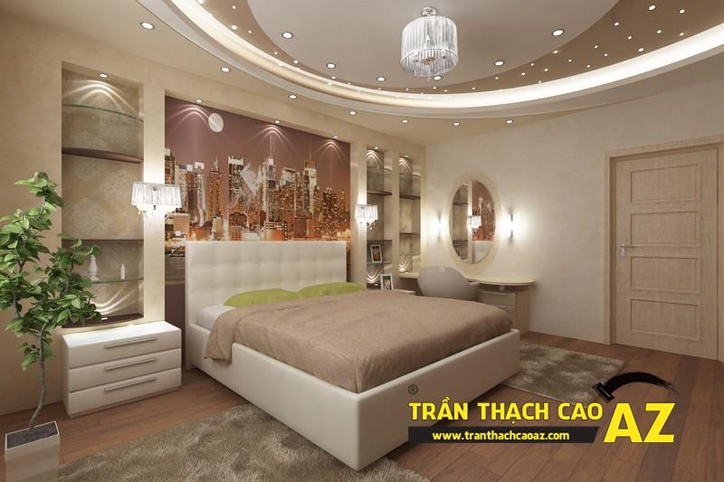 Những thủ thuật dành riêng cho thiết kế trần thạch cao phòng ngủ 02