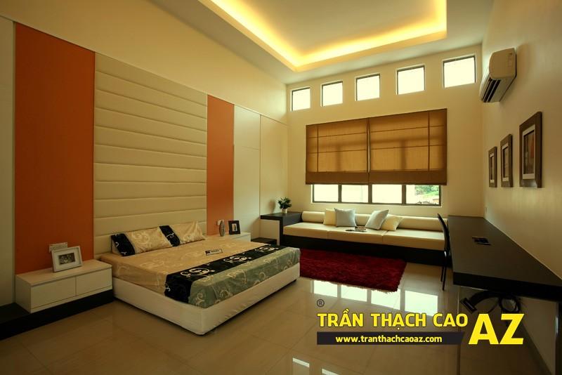 Những thủ thuật dành riêng cho thiết kế trần thạch cao phòng ngủ 03