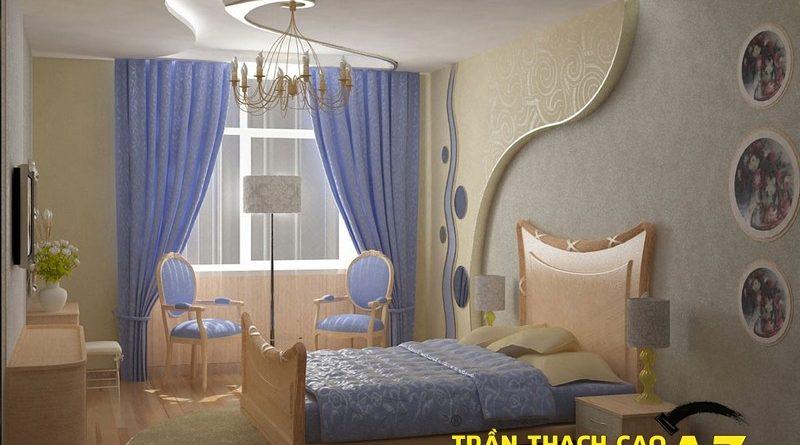 Những thủ thuật dành riêng cho thiết kế trần thạch cao phòng ngủ