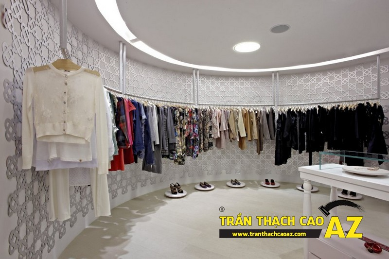 Trang trí showroom - shop đạt chuẩn với trần thạch cao