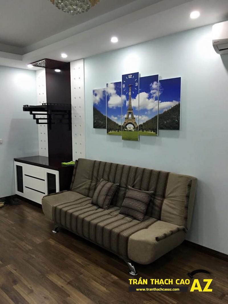 Trần thạch cao nhà chị Chi, chung cư HHC3 Linh Đàm - 04