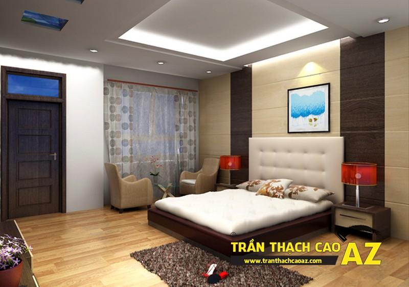 Mẫu trần thạch cao phòng ngủ theo phong cách Châu Âu - 03