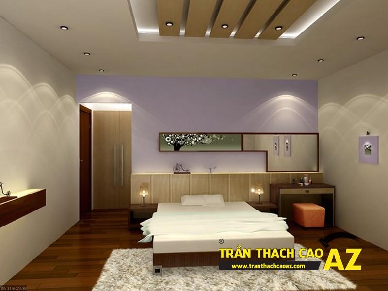 Mẫu trần thạch cao phòng ngủ theo phong cách Châu Âu - 10