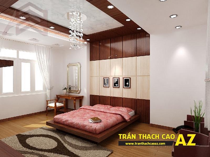 Trần thạch cao dễ thi công, tiết kiệm chi phí xây dựng