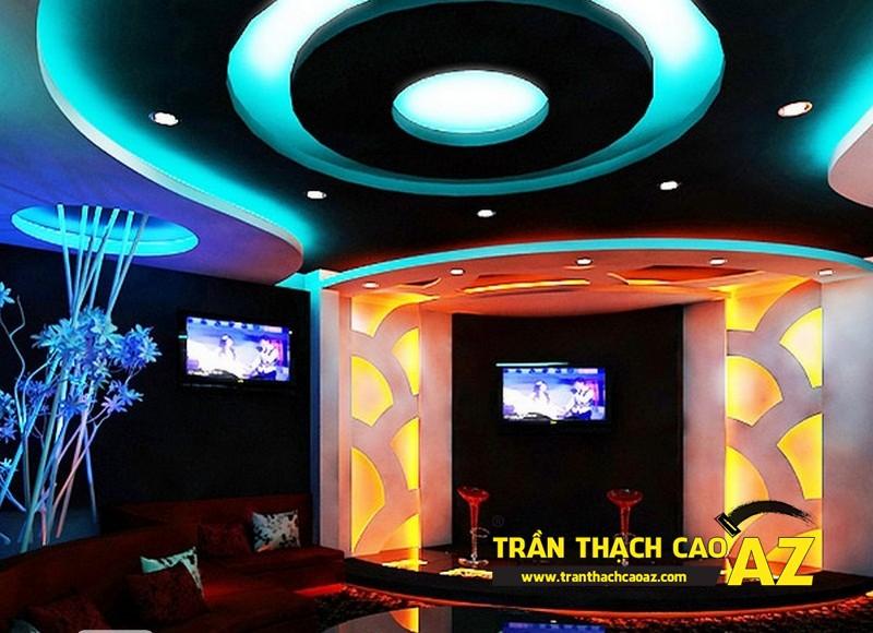 Mẫu trần thạch cao Karaoke đẹp nhất 2016 - 01