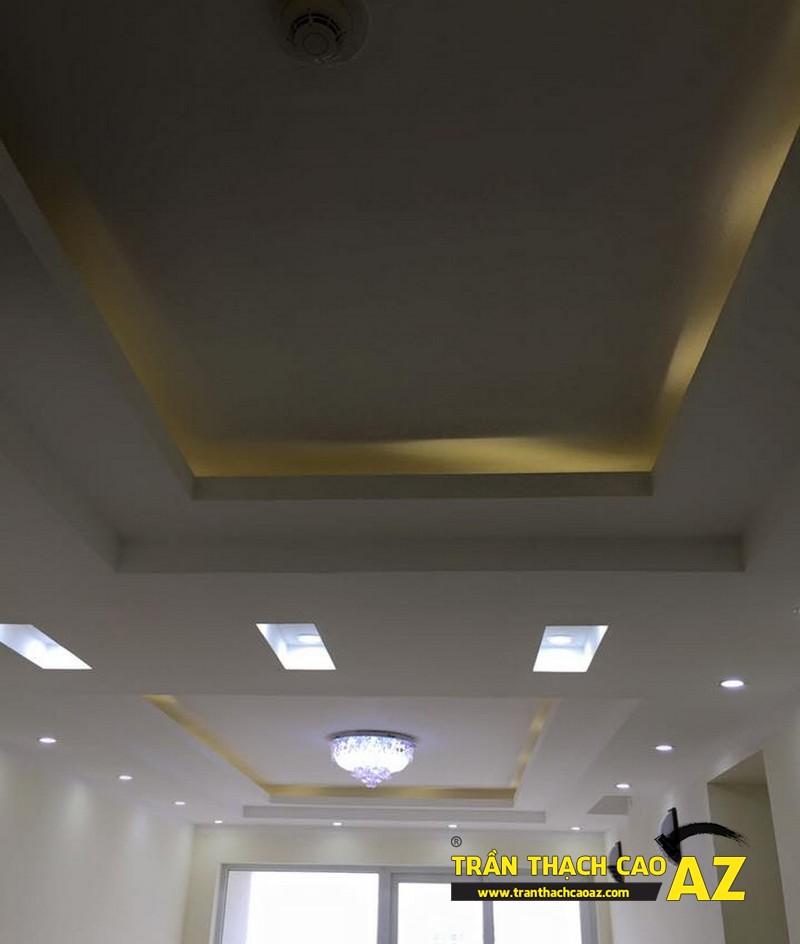 Trần thạch cao nhà chị ngân, chung cư viện 103 - 01
