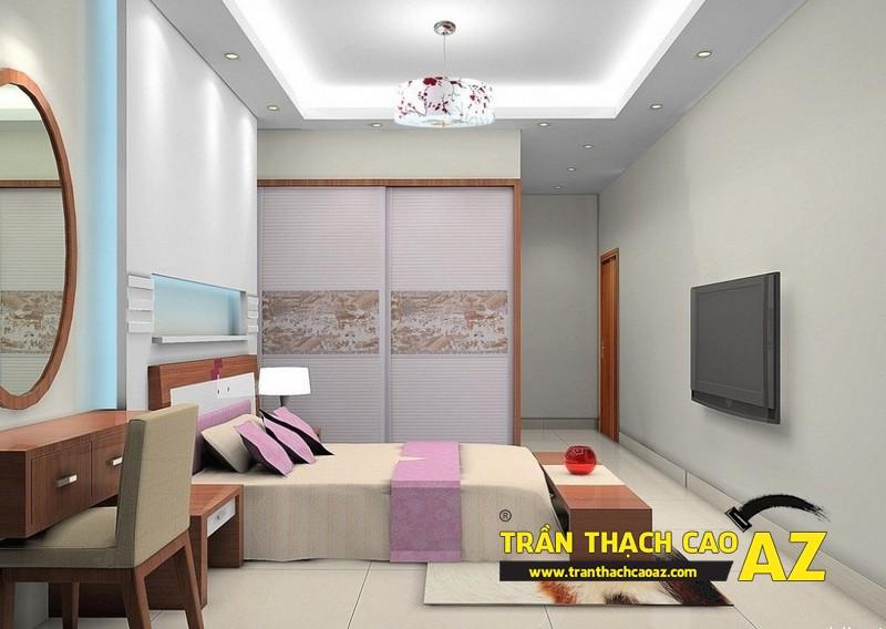 Mẫu trần thạch cao phòng ngủ theo phong cách Châu Âu - 08