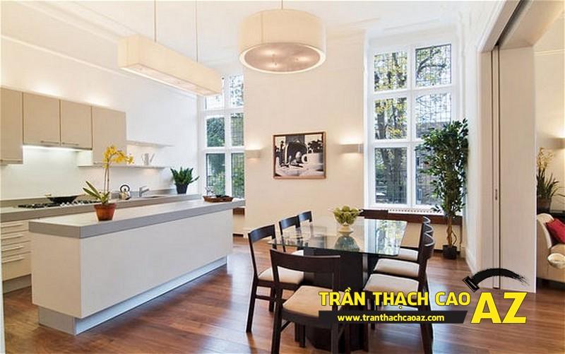 Làm trần thạch cao đẹp cho không gian phòng bếp - 02