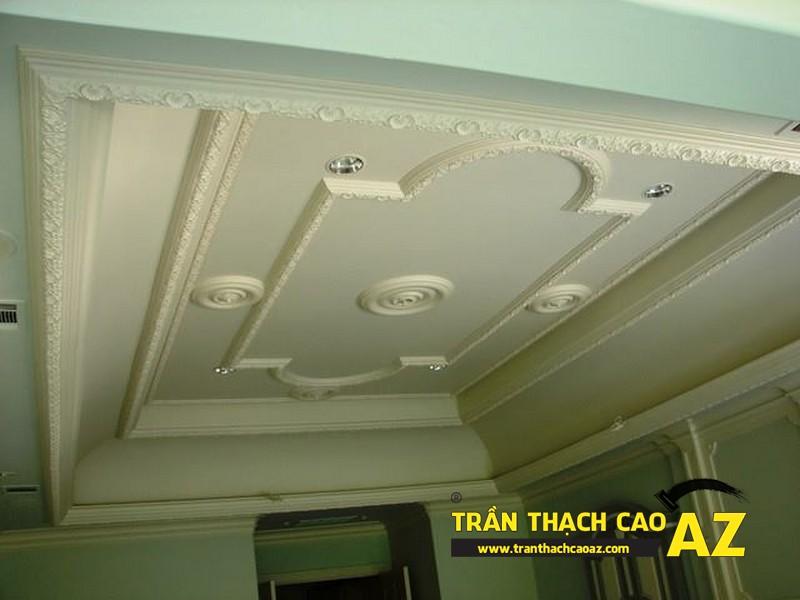 Trần thạch cao - Giải pháp làm đẹp cho căn hộ mini - 02