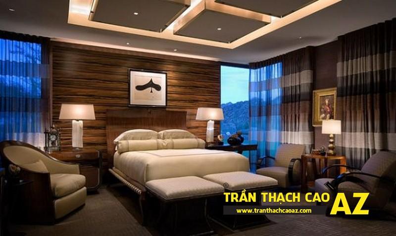 Mẫu trần thạch cao phòng ngủ theo phong cách Châu Âu - 13