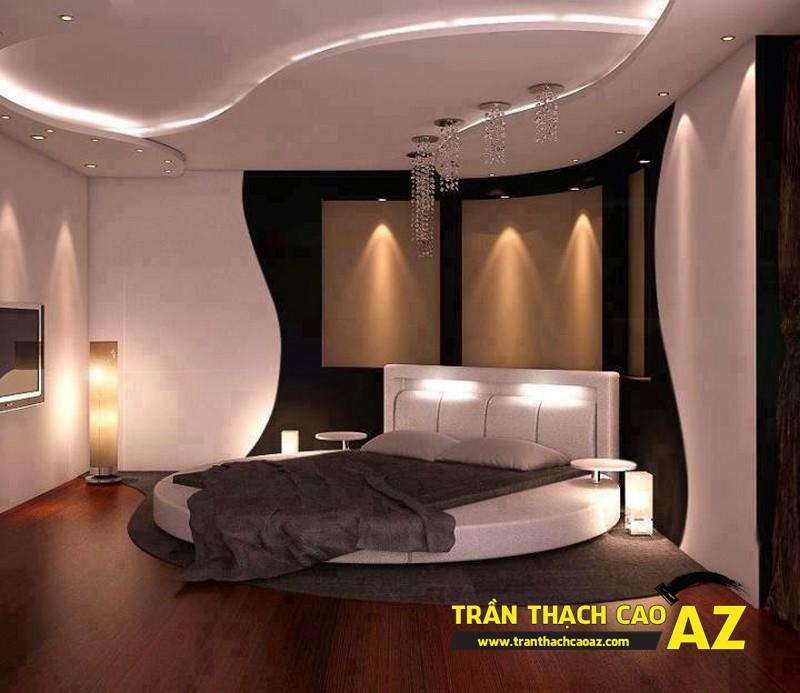 Trần thạch cao phòng ngủ giúp bạn tạo không gian riêng theo đúng phong cách mình mong muốn