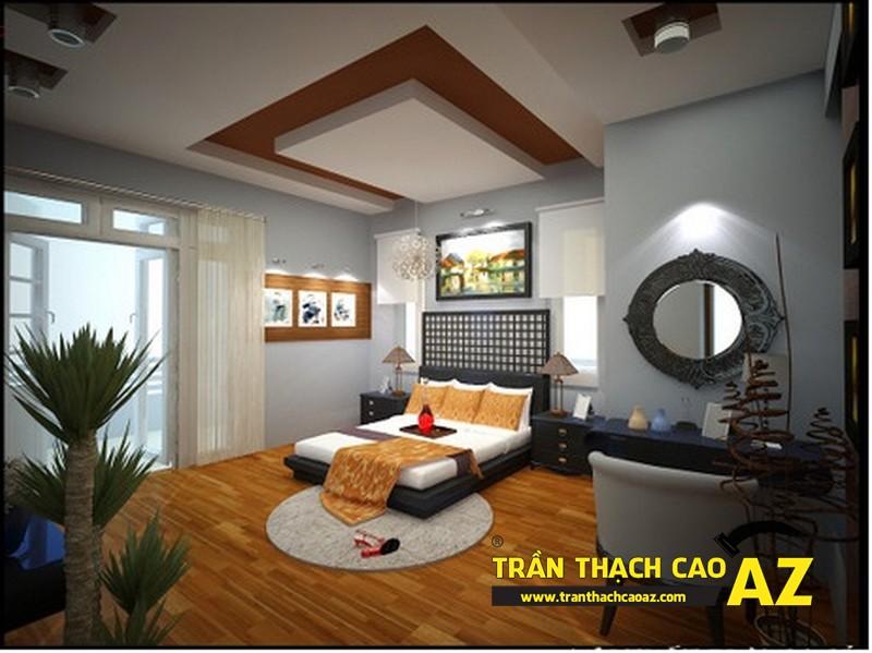 Mẫu trần thạch cao phòng ngủ theo phong cách Châu Âu - 09