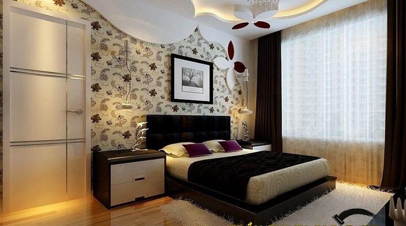 Trần thạch cao phòng ngủ đẹp lung linh
