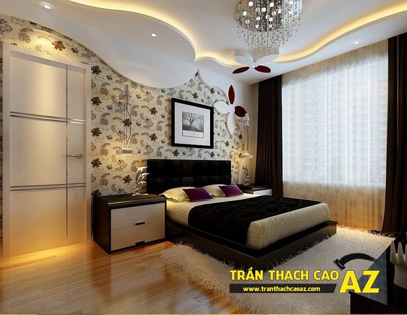 Mẫu trần thạch cao phòng ngủ theo phong cách Châu Âu - 11