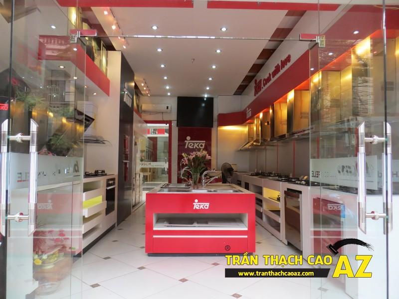 Trần thạch cao showroom giá rẻ, chất lượng