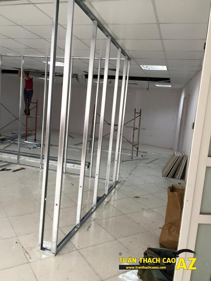 Làm trần thạch cao văn phòng giá rẻ tại ngõ 91, Trần Duy Hưng