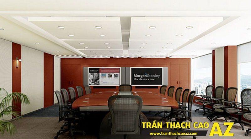 Trần thạch cao chìm - tăng vẻ sang trọng, lịch thiệp cho phòng họp, phòng tiếp khách