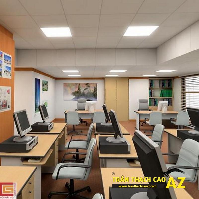 Trần thạch cao văn phòng đẹp có tác dụng gì?