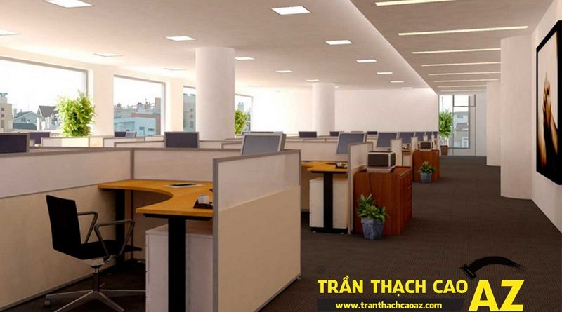 Trần thạch cao văn phòng và những điều cần lưu ý