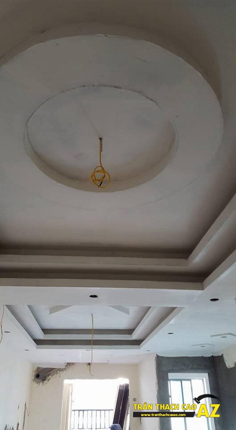 Hoàn thiện trần vách thạch cao nhà anh Nam P11.04, Chung cư Lake View PLaza 01