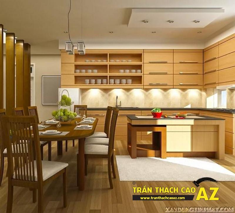 Vì sao nên sử dụng trần thạch cao cho phòng bếp?