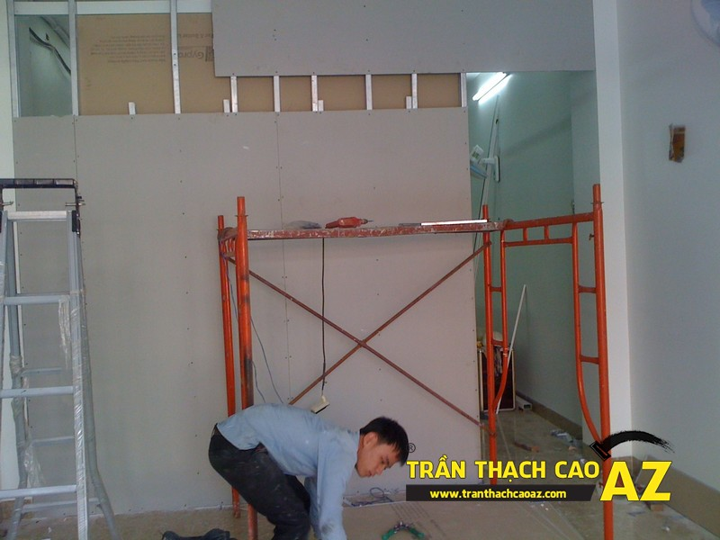 Đội thợ thi công trần thạch cao tốt nhất Hà Nội
