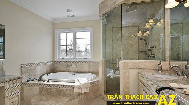 Trần thạch cao phòng tắm và những điều tuyệt đối không thể quên