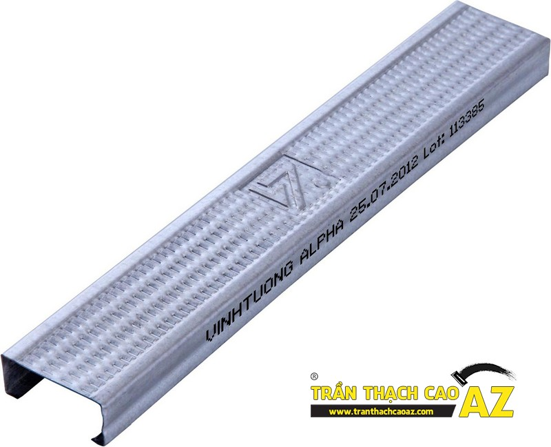 Báo giá các loại khung xương thạch cao sử dụng trong trần thạch cao 01