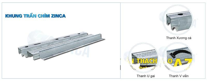 Báo giá các loại khung xương thạch cao sử dụng trong trần thạch cao 02