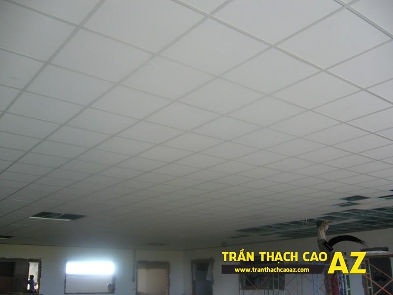 Báo giá thi công trần thạch cao thả tại Hà Nội