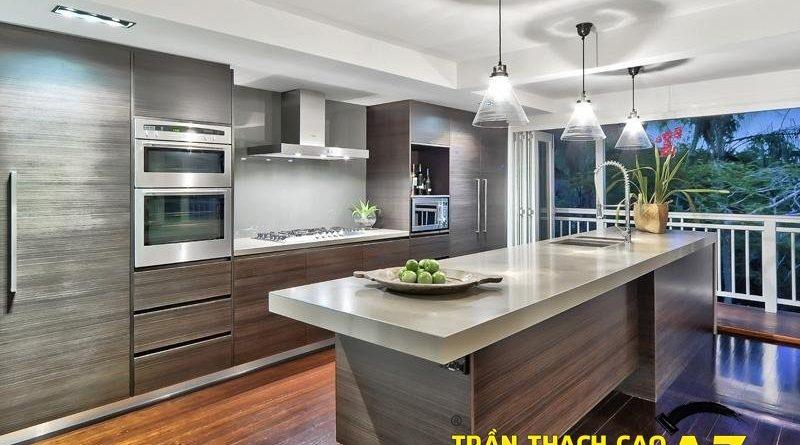 Báo giá thi công trần thạch cao chống ẩm cho phòng bếp 2016
