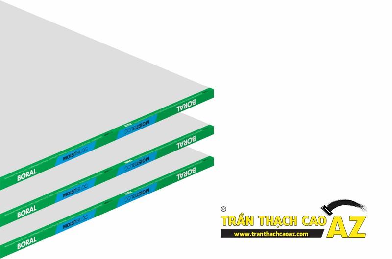Các loại tấm thạch cao thường sử dụng khi làm trần thạch cao hiện nay 02