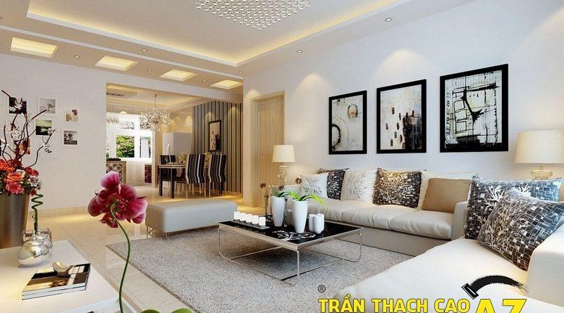 Cách chọn đèn chùm trần thạch cao đẹp cho phòng khách