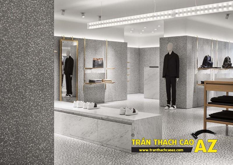Kinh nghiệm chọn màu trần thạch cao showroom-shop để làm ăn thuận lợi, tiền vào như nước 01